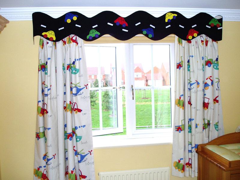 Merveilleux Kids Bedroom Curtains